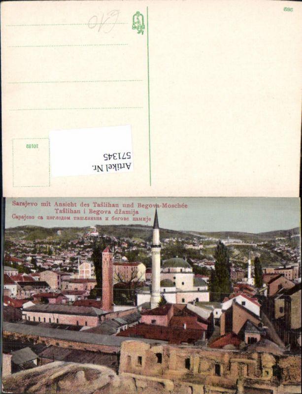 571345,Bosnia Sarajevo Begova Moschee Taslihan