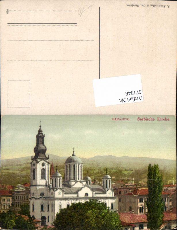 571346,Bosnia Sarajevo Serbische Kirche