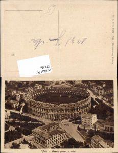 571357,Croatia Pola Pula Istrien Arena