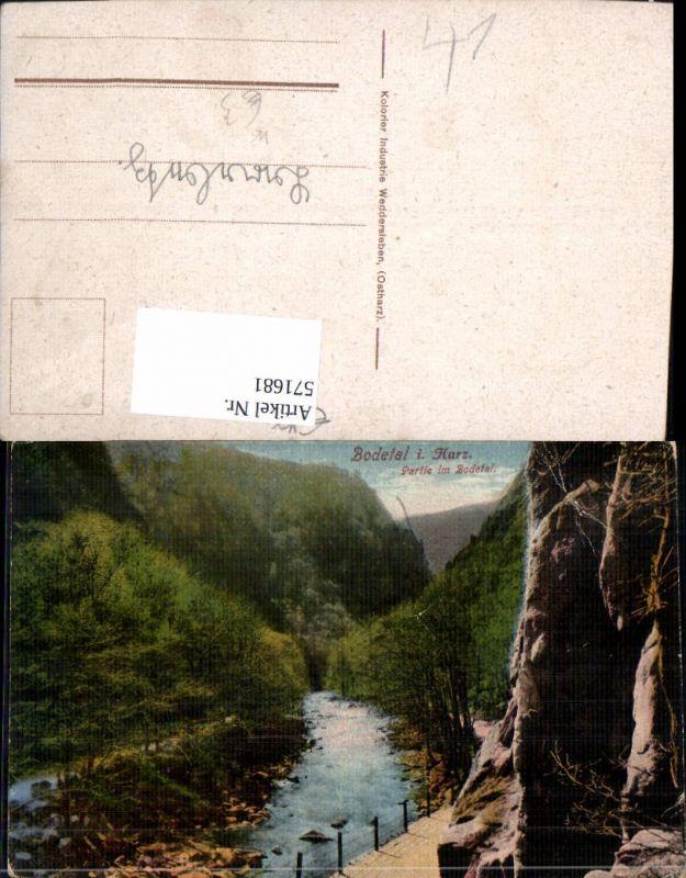 571681,Bodetal i. Harz Partie Bodetal Treseburg Thale