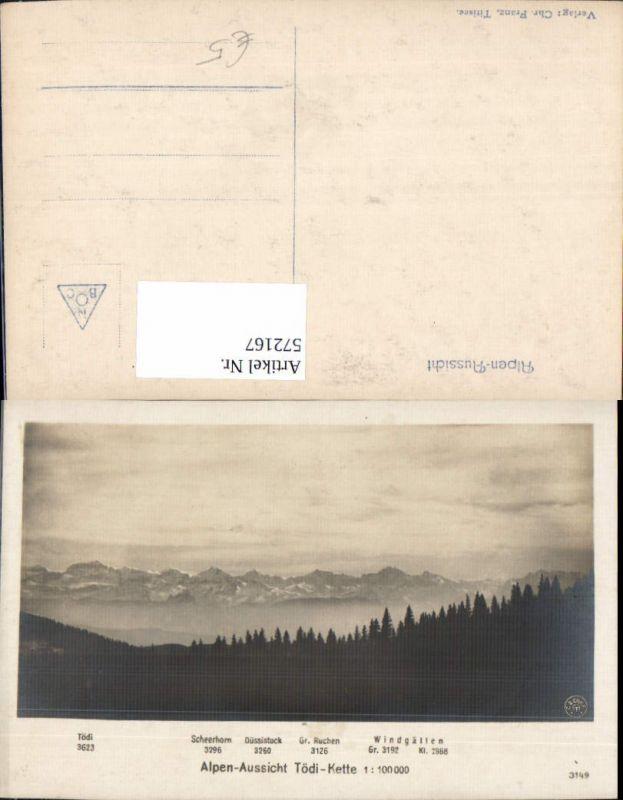 572167,Alpen-Aussicht Tödi-Kette Tödi Linthal