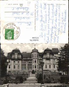 572184,Foto Ak Schierke Harz Wernigerode FDGB Ferienheim Franz Mehring