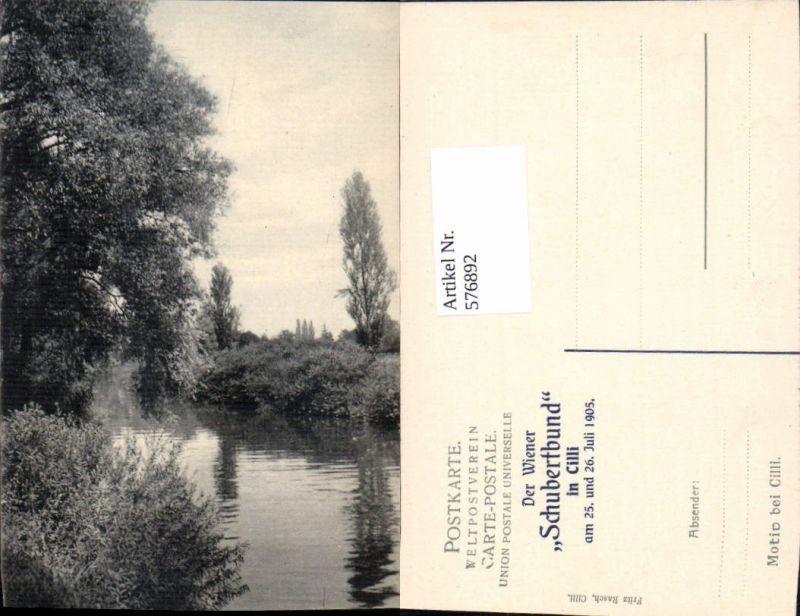 576892,Slovenia Cilli Celje Motiv Stp. Schubertbund in Cilli 1905