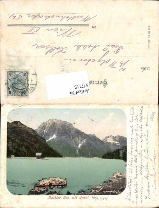 577115,Slovenia Raiberlsee Raibl Tarvis Tarvisio