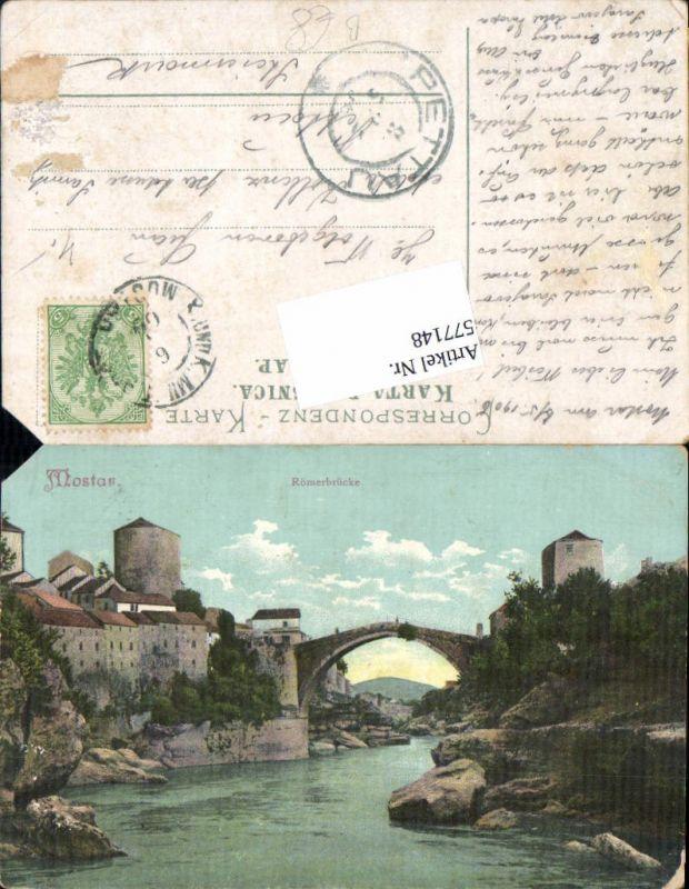 577148,Bosnia Hercegovina Mostar Römerbrücke
