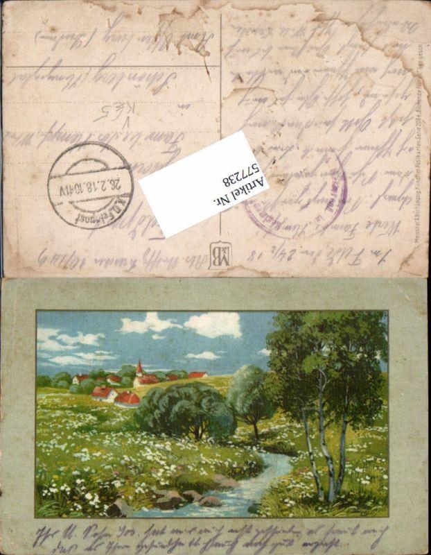 577238,Künstler AK Meissner & Buch 2084 Bach Ort