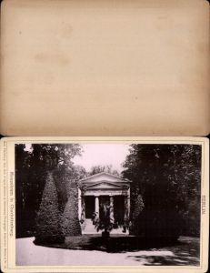 577367,Kabinett CDV Foto Berlin 1890 Mausoleum Charlottenburg pub Rob. Prager