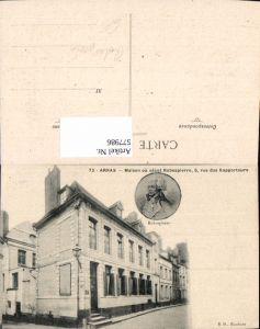 577986,Frühe Neuzeit Arras Maison Robespierre Französische Revolution France