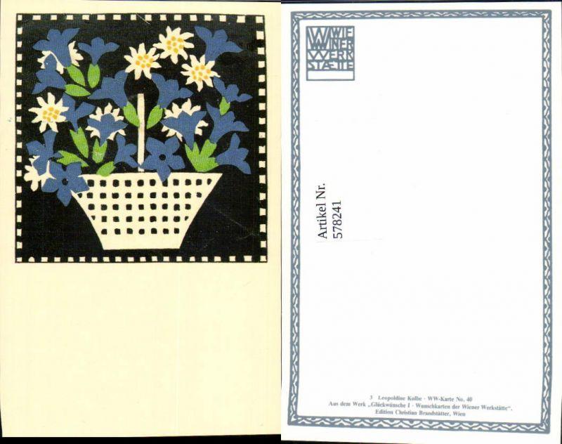 578241,REPRO Wiener Werkstätte Postkarte 40 Leopoldine Kolbe
