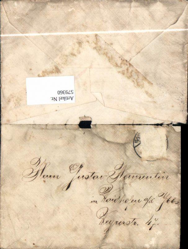 579360brief Umschlag Ohne Inhalt Nach Waidhofen An Der Ybbs Nr
