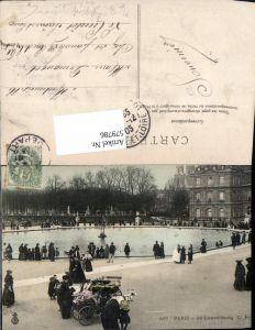 579786,Ziegen Ziegengespann Paris Au Luxembourg Tiergespann
