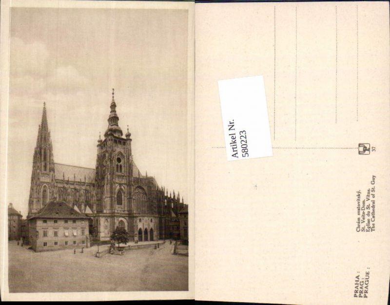 580223,tolle AK Prag Praha St. Veits Dom