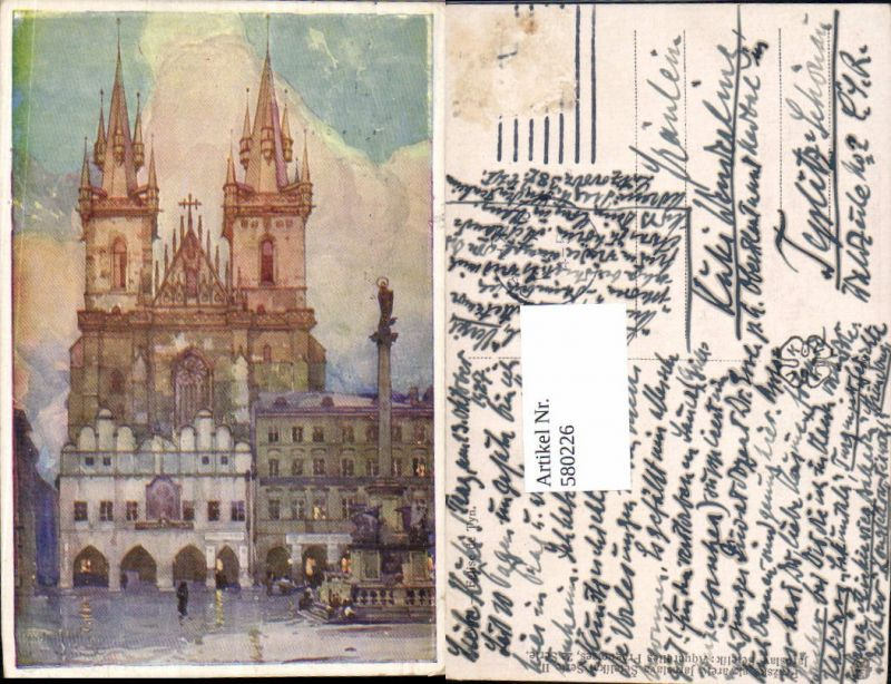 580226,tolle Künstler AK Jaroslav Setelik Prag Praha