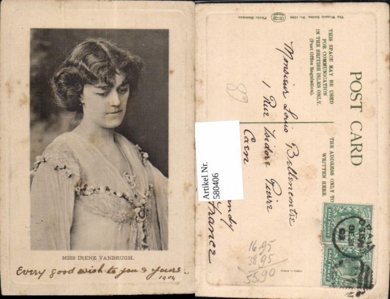 580406,Miss Irene Vanbrugh Opernsänger Oper
