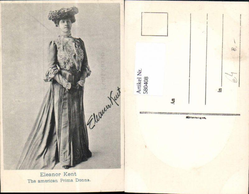 580408,Eleanor Kent The american Prima Donna Opernsänger Oper