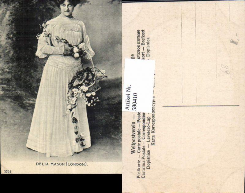 580410,Delia Mason London Opernsänger Oper