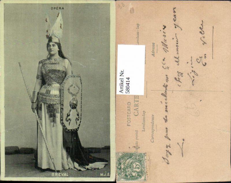 580414,Opera Breval Frau Opernsänger Oper