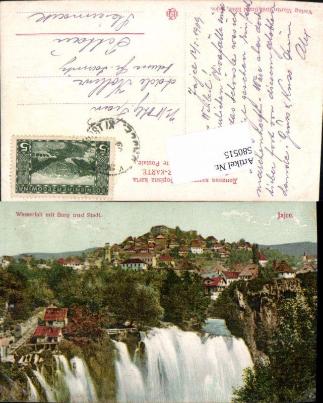 580515,Jajce Bosnia Burg