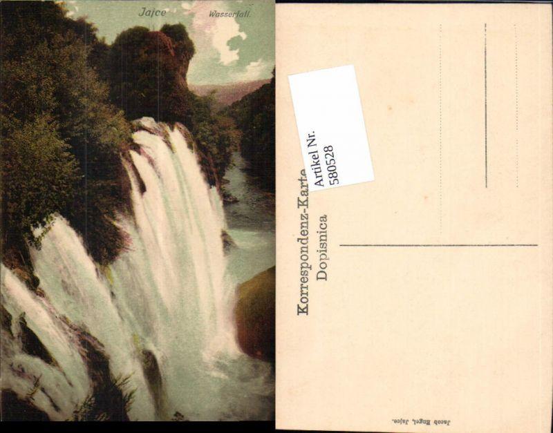 580528,Bosnia Jajce Wasserfall