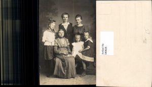 580828,Gruppenbild Familie Frauen Generationen Matrosenanzug Mode