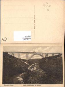 581257,Müngstener Brücke Kaiser Wilhelm-Brücke Brücke b. Müngsten Bergisch Land Solingen