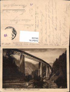 581258,Brücke Ravennabrücke Viadukt Höllentalbahn Schwarzwald Breitnau Hinterzarten