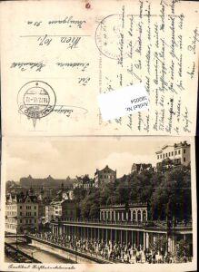 582054,Karlsbad Karlovy Vary Mühlbrunn Kolonnade Feldpost