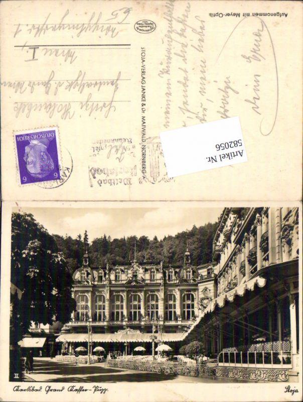 582056,Karlsbad Karlovy Vary Grand Hotel Kaffee Pupp