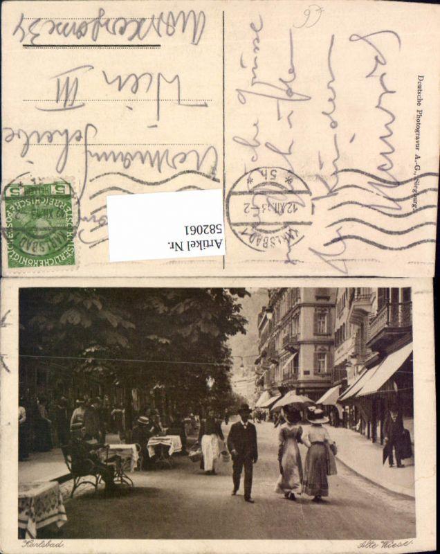 582061,Karlsbad Karlovy Vary Alte Wiese 0