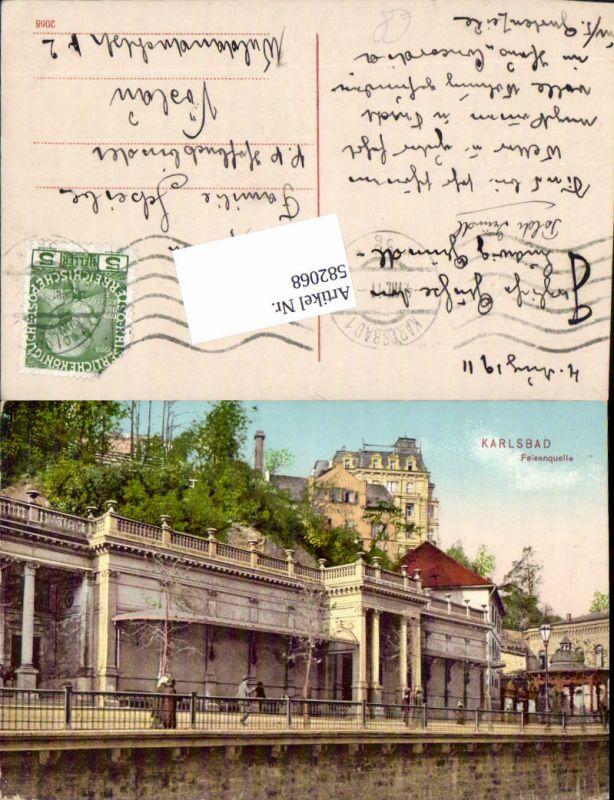 582068,Karlsbad Karlovy Vary Felsenquelle