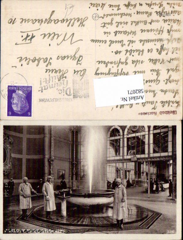 582071,Karlsbad Karlovy Vary Sprudel 0