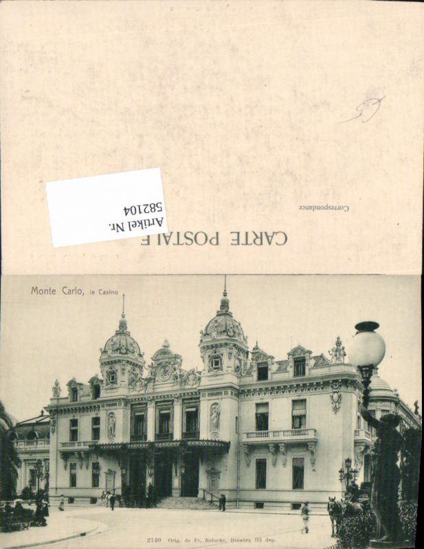 582104,Monte Carlo Monaco Casino