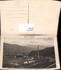 582398,France Savoie La Rochette Centre d excursions Vue generale prise de la route d Arvillard