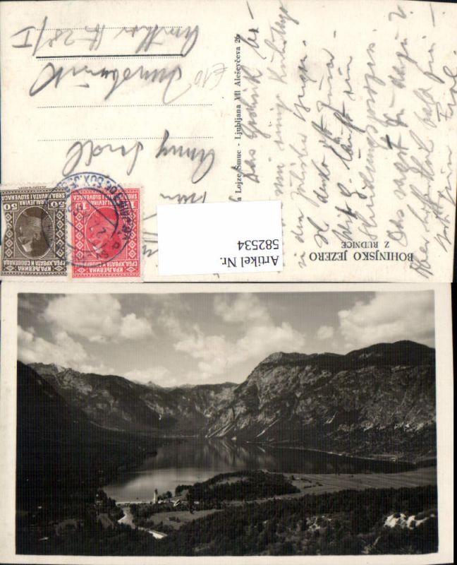 582534,Bohinj Bohinjsko jezero z Rudnice Slovenia