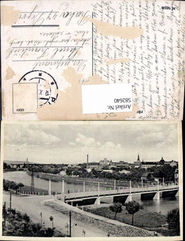 582640,Prerov Ansicht m. Brücke Czech Republic