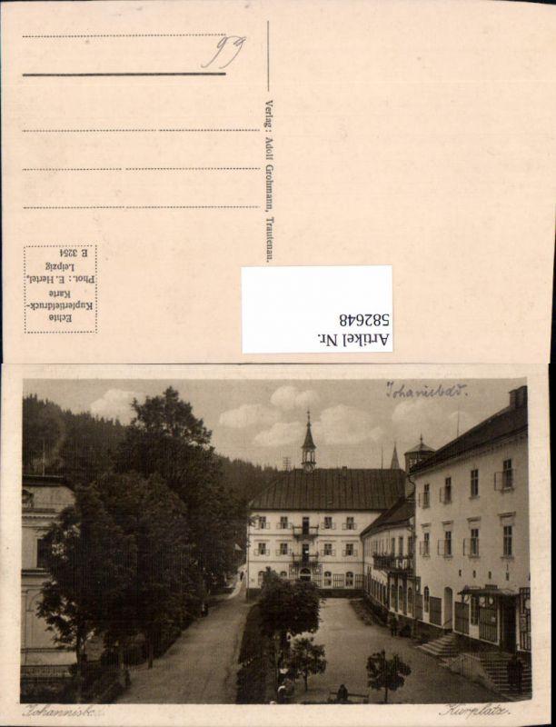 582648,Janske Lazne Kurplatz Johannisbad Czech Republic