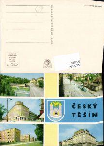 582649,Mehrbild Ak Cesky Tesin Tschechisch-Teschen Czech Republic
