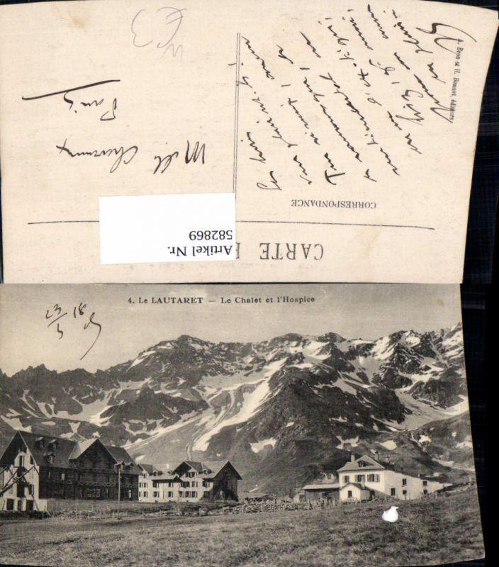 582869,France Le Lautaret Le Chalet et l Hospice Le Bourg-d'Oisans Briancon
