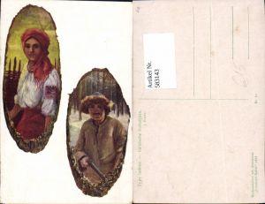 583143,Romania Galizien Galizia Volkstypen Czernowitz Iudowe