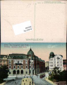 583184,Ukraine Galizien Lemberg Lwow Lwiw Sparkasse Prager Bank Banc