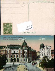 583185,Ukraine Galizien Lemberg Lwow Lwiw Sparkasse Prager Bank Banc