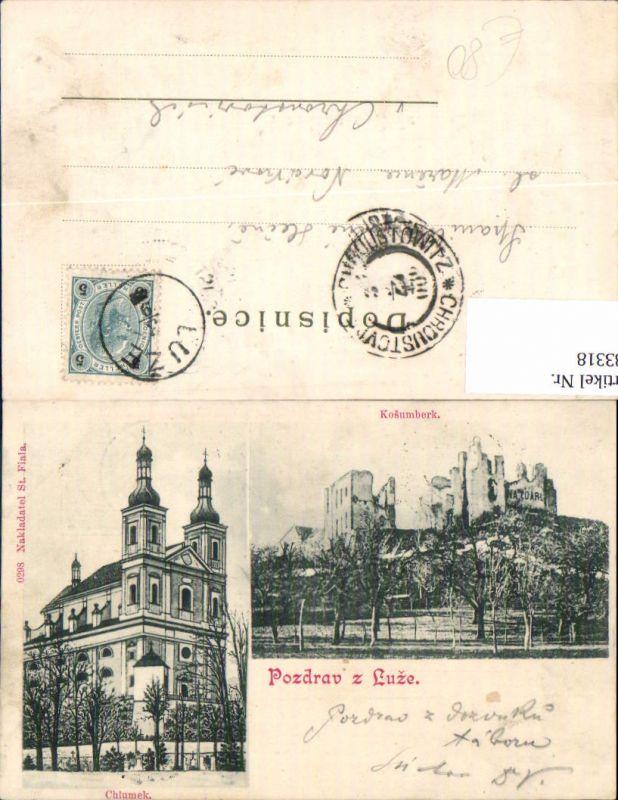 583318,Pozdrav z Luze Kosumberk Chlumek Chrudim Koschumberg