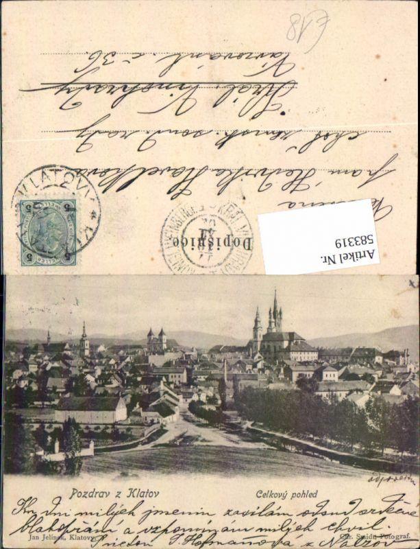 583319,Klatov Klattau Klatovy