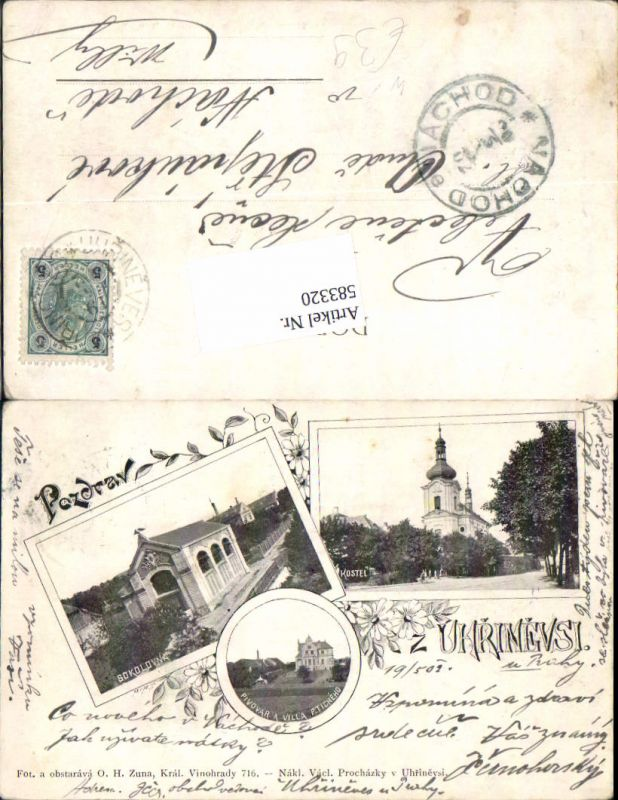 583320,Uhrinevsi Uhrineves Prag Praha Pivovar A Villa P. Ticheho Kostel