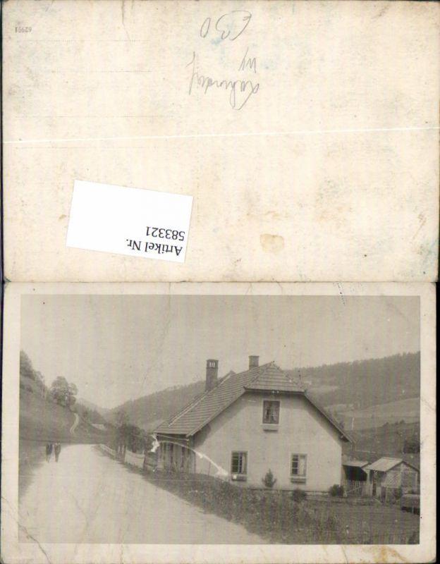 583321tolle Foto Ak Waidhofen An Der Ybbs Lahrndorf Haus Hermentin
