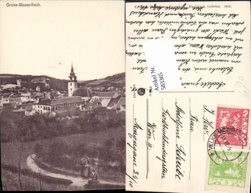 583365,Gross Meseritsch Velke Mezirici Mähren