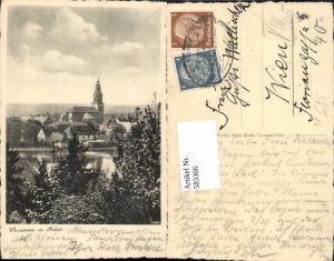 583366,Crossen an der Oder Bahnpost Zug 0354 Krosno Odrzanskie Lebus