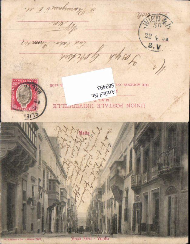 583493,Malta Valletta Strada Forni , defekt