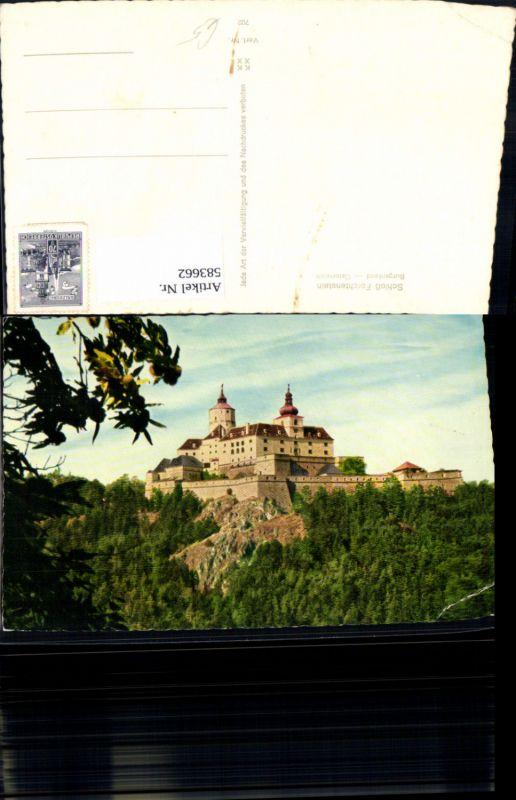 583662,Forchtenstein Burg Schloss Forchtenstein