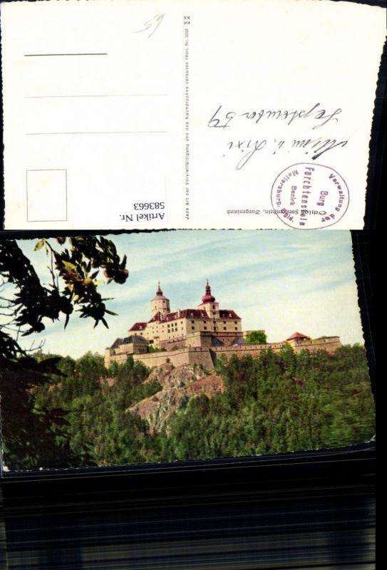583663,Forchtenstein Burg Schloss Forchtenstein
